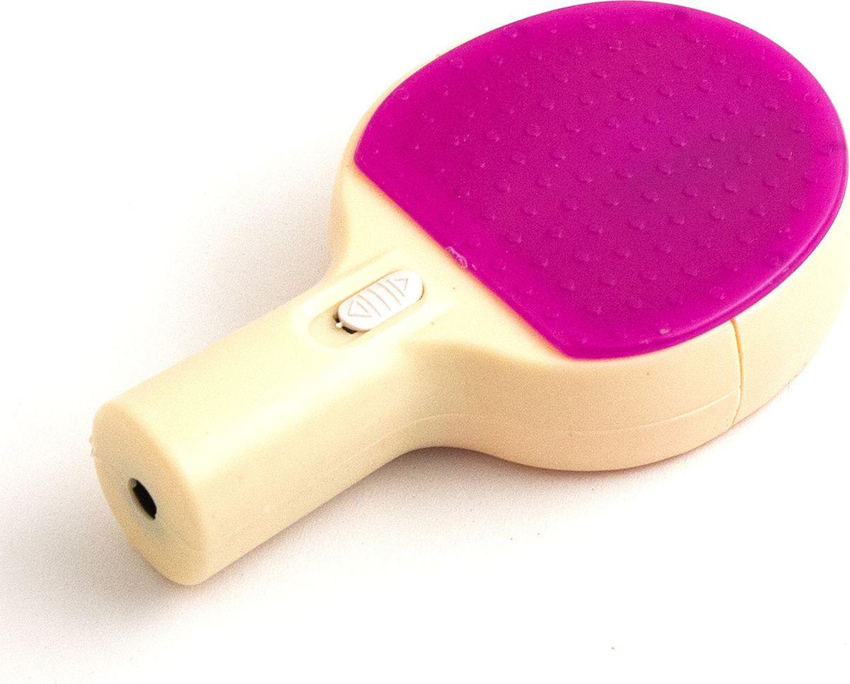 Эврика Точилка Ракетка цвет фиолетовый91843Точилка в виде ракетки с секретом! В корпус встроен светодиодный микропроектор!