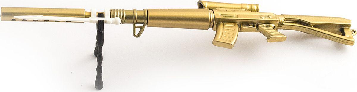 Эврика Ручка шариковая Винтовка96196Большая сувенирная сборная ручка на подставке в виде винтовки с оптическим прицелом. Цвет, узор и форма корпуса в ассортименте. Замечательный сувенир для охотников за удачей и всех, кто умеет поражать поставленные цели не только на бумаге.