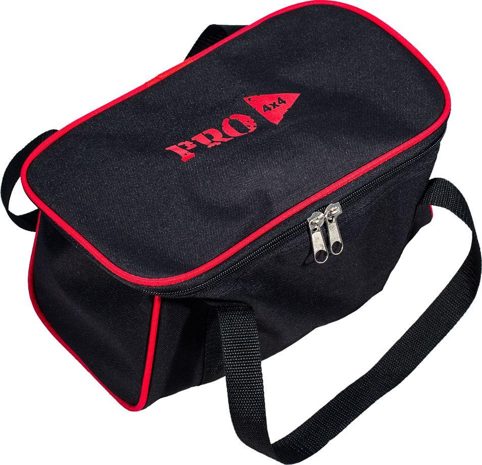 Сумка PRO-4x4, цвет: черный, 30 x 20 x 20 смPRO-BAG-000002Сумка PRO-4x4, изготовленная из прочного оксофорда, оснащена боковыми ручками.Изделие имеет одно основное отделение, которое застегивается на застежку-молнию. Такая сумка послужит удобным органайзером для ваших принадлежностей.