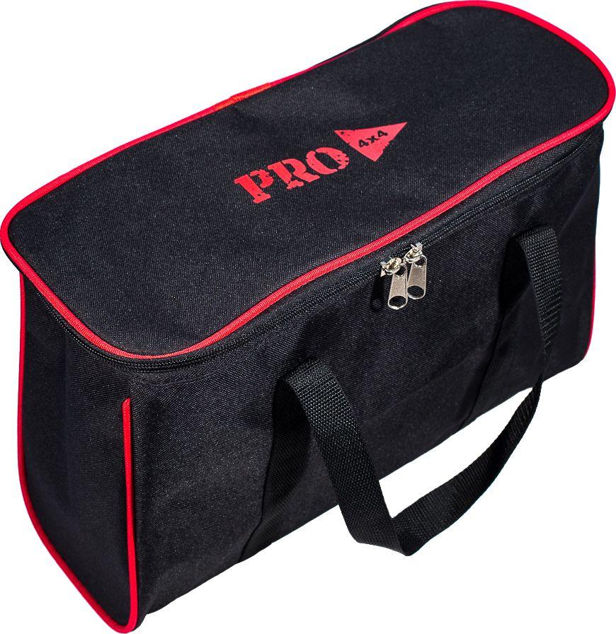 Сумка PRO-4x4, цвет: черный, 40 x 15 x 24 смPRO-BAG-000003Сумка PRO-4x4, изготовленная из прочного оксофорда, оснащена боковыми ручками.Изделие имеет одно основное отделение, которое застегивается на застежку-молнию. Такая сумка послужит удобным органайзером для ваших принадлежностей.