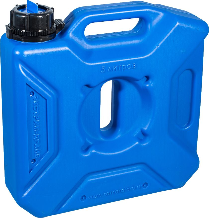Канистра автомобильная Экстрим Драйв, цвет: синий, 5 лXD051SМногие утверждают, что данная тара имеет самую удобную форму на сегодняшний день. Экспедиционную канистру Экстрим можно закрепить где удобно, в ней присутствует множество ручек и отверстий для крепления в разных местах. Это может быть багажник, квадроцикл, мотоцикл, катер, джип, прицеп и т.д. В канистру плоскую Экстрим можно заливать любые виды жидкостей: вода, топливо, бензин, солярку, водка, пиво и многое другое. Принцип данной канистры в том чтобы удовлетворить потребности на отдыхе и в экстремальных условия. За счет плоской формы канистра Экстрим пригодится чтобы из нее сделать, например: столик или небольшую лавочку, ведь эта канистра выдерживает до 400 кг.