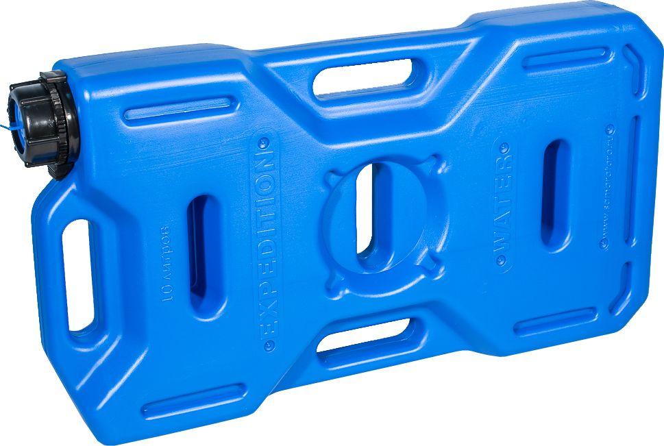 Канистра автомобильная Экстрим Драйв, цвет: синий, 10 лXD101SМногие утверждают, что данная тара имеет самую удобную форму на сегодняшний день. Экспедиционную канистру Экстрим можно закрепить где удобно, в ней присутствует множество ручек и отверстий для крепления в разных местах. Это может быть багажник, квадроцикл, мотоцикл, катер, джип, прицеп и т.д. В канистру плоскую Экстрим можно заливать любые виды жидкостей: вода, топливо, бензин, солярку, водка, пиво и многое другое. Принцип данной канистры в том чтобы удовлетворить потребности на отдыхе и в экстремальных условия. За счет плоской формы канистра Экстрим пригодится чтобы из нее сделать, например: столик или небольшую лавочку, ведь эта канистра выдерживает до 400 кг.