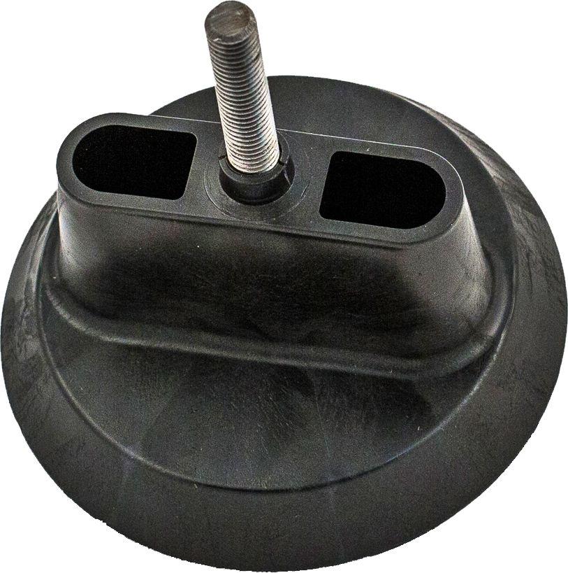 Крепеж для канистр Экстрим, промежуточный, цвет: черный. XINTXINTПромежуточное крепление для соединения канистр между собой. Используется только в паре с основным крепежом.