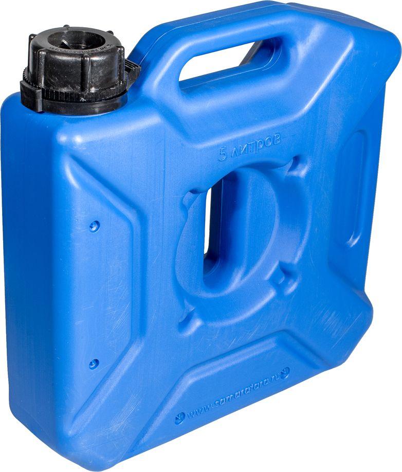 Канистра автомобильная Экстрим Плюс, цвет: синий, 5 лXP051SКанистра автомобильная Экстрим Плюс имеет самую удобную форму на сегодняшний день. Экспедиционную канистру можно закрепить где удобно, в ней присутствует множество ручек и отверстий для крепления в разных местах. Это может быть багажник, квадроцикл, мотоцикл, катер, джип, прицеп и т.д.В канистру плоскую можно заливать любые виды жидкостей: вода, топливо, бензин, солярку, водка, пиво и многое другое.За счет плоской формы канистра Экстрим пригодится чтобы из нее сделать, например: столик или небольшую лавочку, ведь эта канистра выдерживает до 400 кг.