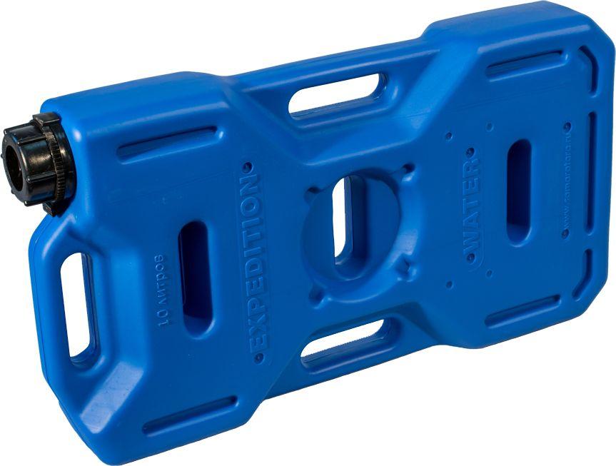 Канистра автомобильная Экстрим Плюс, цвет: синий, 10 лXP101SКанистра автомобильная Экстрим Драйв имеет самую удобную форму на сегодняшний день. Экспедиционную канистру можно закрепить где удобно, в ней присутствует множество ручек и отверстий для крепления в разных местах. Это может быть багажник, квадроцикл, мотоцикл, катер, джип, прицеп и т.д.В канистру плоскую можно заливать любые виды жидкостей: вода, топливо, бензин, солярку, водка, пиво и многое другое.За счет плоской формы канистра Экстрим пригодится чтобы из нее сделать, например: столик или небольшую лавочку, ведь эта канистра выдерживает до 400 кг.