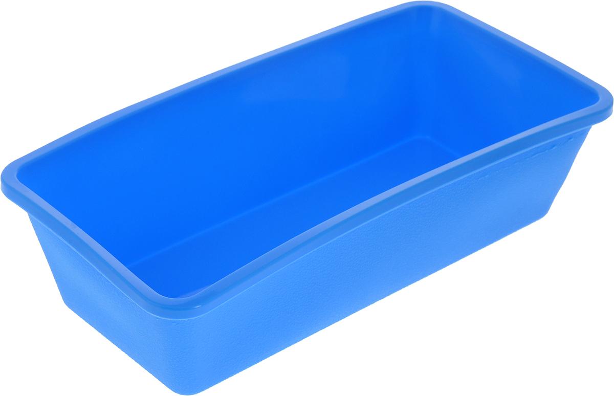 Форма для выпечки Доляна Прямоугольная, цвет: голубой, 22 х 11 х 6 см164562_голубойФорма для выпечки из силикона - современное решение для практичных и радушных хозяек. Оригинальный предмет позволяет готовить в духовке любимые блюда из мяса, рыбы, птицы и овощей, а также вкуснейшую выпечку. Почему это изделие должно быть на кухне? блюдо сохраняет нужную форму и легко отделяется от стенок после приготовления; высокая термостойкость (от –40 до 230 ?) позволяет применять форму в духовых шкафах и морозильных камерах; небольшая масса делает эксплуатацию предмета простой даже для хрупкой женщины; силикон пригоден для посудомоечных машин; высокопрочный материал делает форму долговечным инструментом; при хранении предмет занимает мало места. Советы по использованию формы Перед первым применением промойте предмет тёплой водой. В процессе приготовления используйте кухонный инструмент из дерева, пластика или силикона. Перед извлечением блюда из силиконовой формы дайте ему немного остыть, осторожно отогните края предмета. Готовьте с удовольствием!