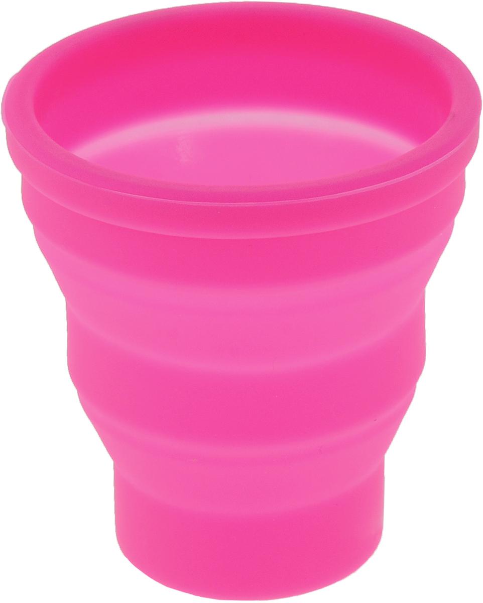 Кружка Доляна Алан, складная, цвет: розовый, 220 мл1210694_розовыйОт качества посуды зависит не только вкус еды, но и здоровье человека. Стакан складной 220 мл 8,5х8 см Алан - товар, соответствующий российским стандартам качества. Любой хозяйке будет приятно держать его в руках. С нашей посудой и кухонной утварью приготовление еды и сервировка стола превратятся в настоящий праздник.
