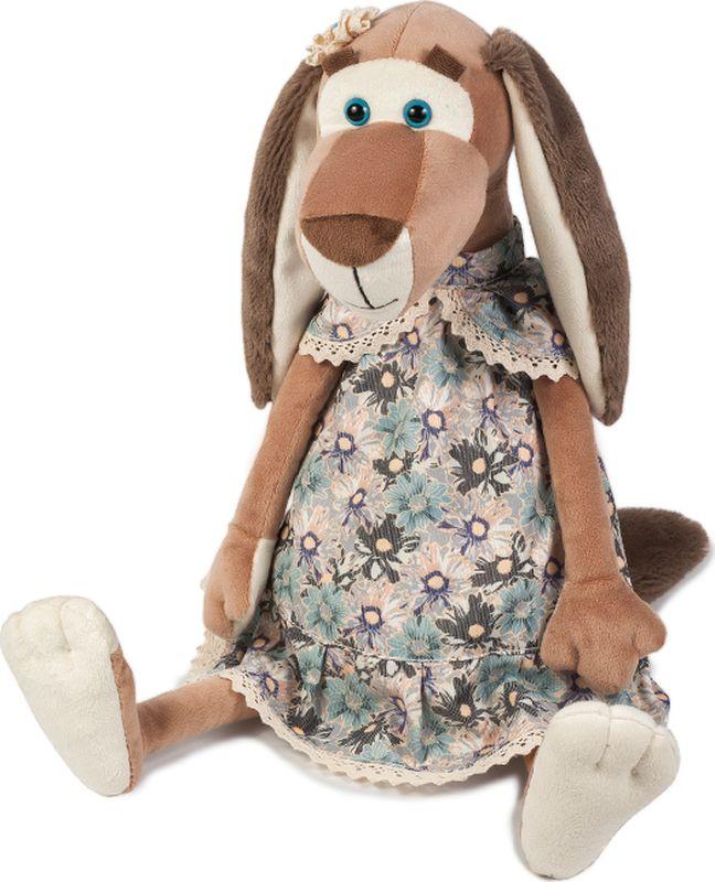 Maxitoys Luxury Мягкая игрушка Собачка Наденька в платье 35 см