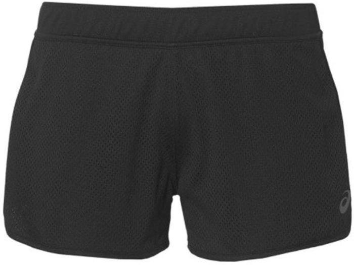 Шорты женские Asics Mesh Short, цвет: черный. 141138-0904. Размер M (46/48) шорты мужские asics gpx knit short 9in цвет черный 141095 0904 размер xxl 54 56
