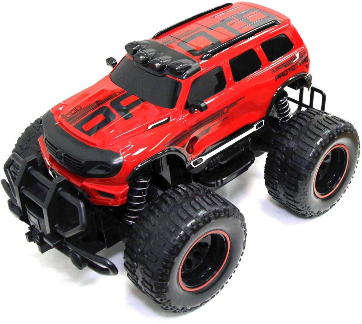 5bites Машинка на радиоуправлении Bazooka цвет красный RCC-BZ03RD