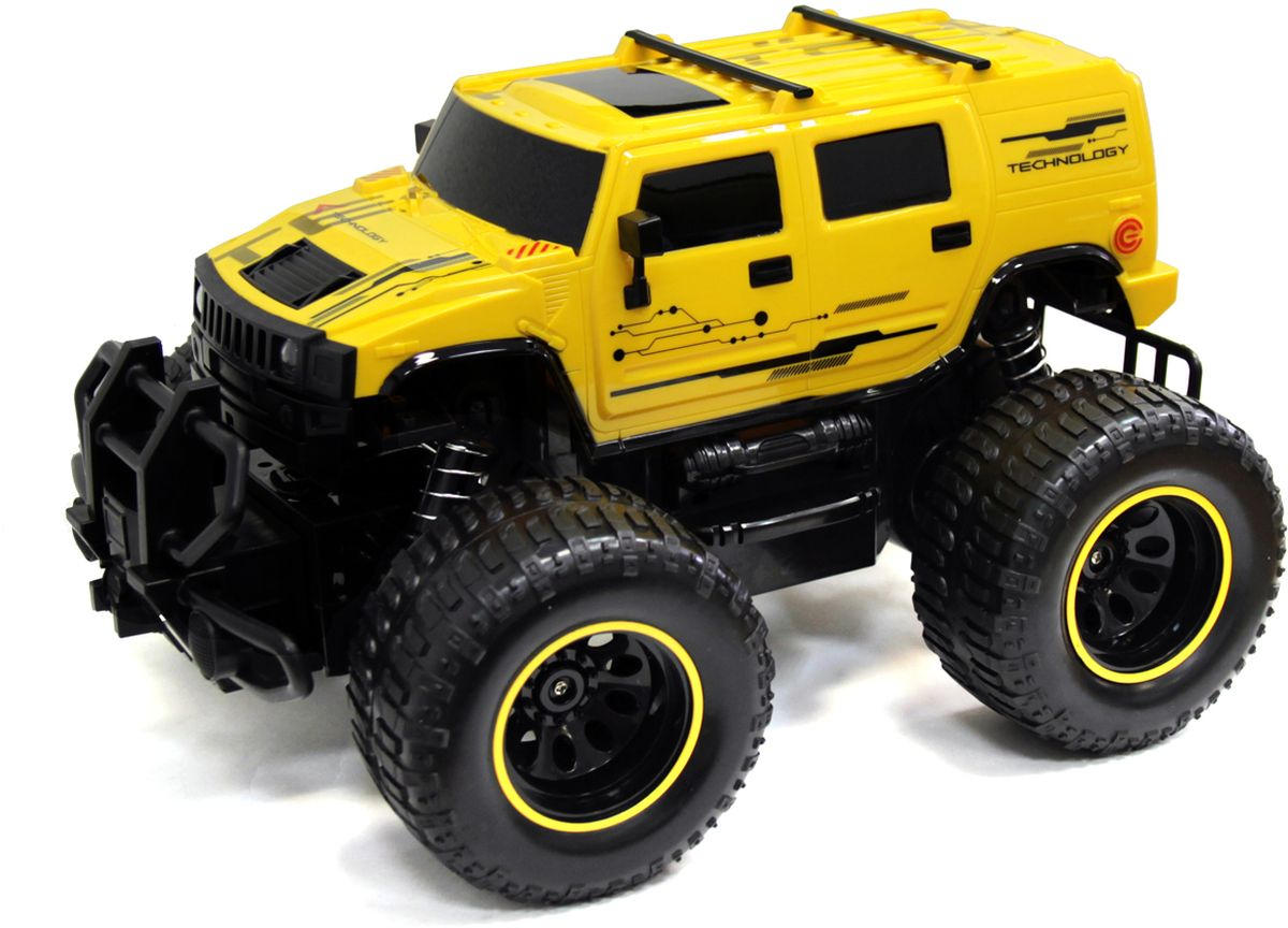 5bites Машинка на радиоуправлении Bazooka цвет желтый