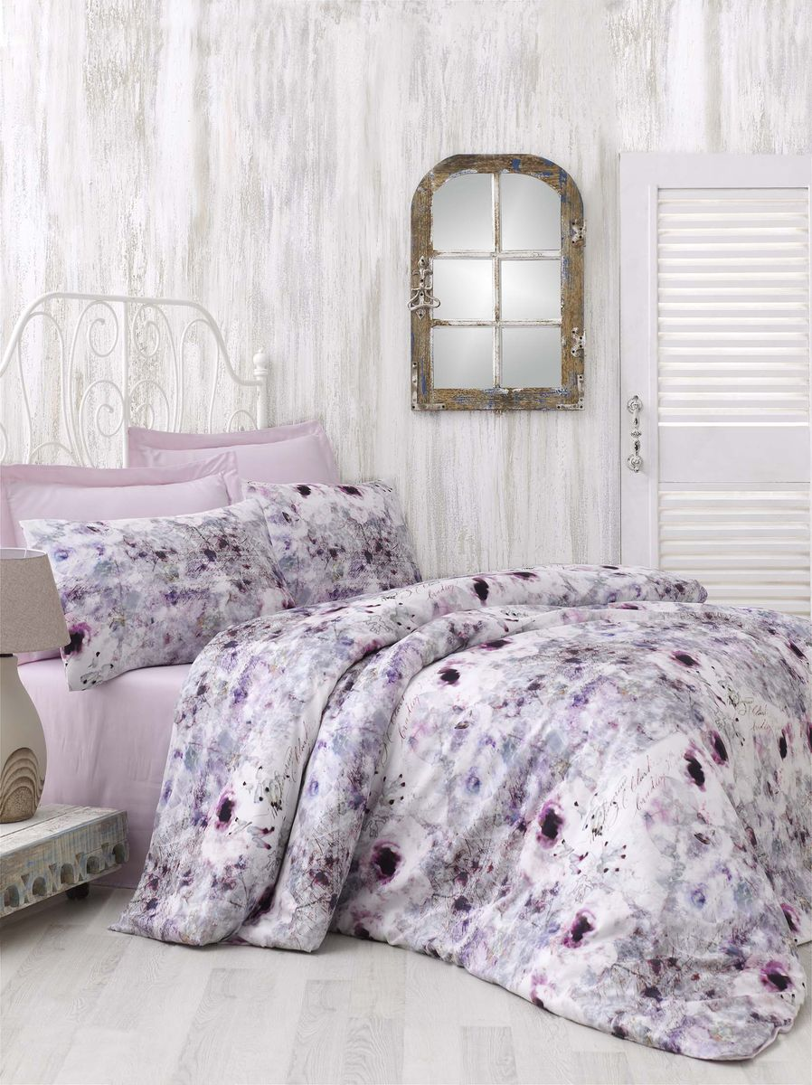 Комплект белья Issimo Home Nasrin, евро, наволочки 50x70. 00000005434 полотенце бамбуковое issimo home valencia цвет розовый 90 x 150 см