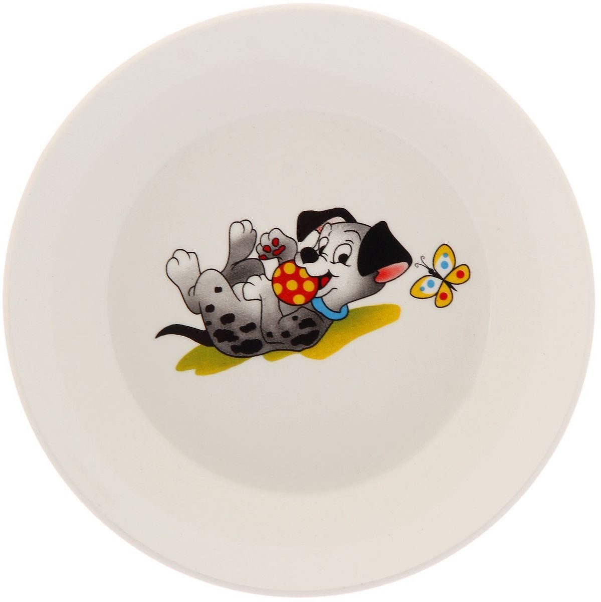 Кубаньфарфор Блюдце-тазик Озорные щенкиDMB180-1Фаянсовая детская посуда с забавным рисунком Озорные щенки понравится каждому малышу. Изделие из качественного материала станет правильным выбором для повседневной эксплуатации и поможет превратить каждый прием пищи в радостное приключение. Уважаемые клиенты! Обращаем ваше внимание на ассортимент товара. Поставка осуществляется в зависимости от наличия на складе.