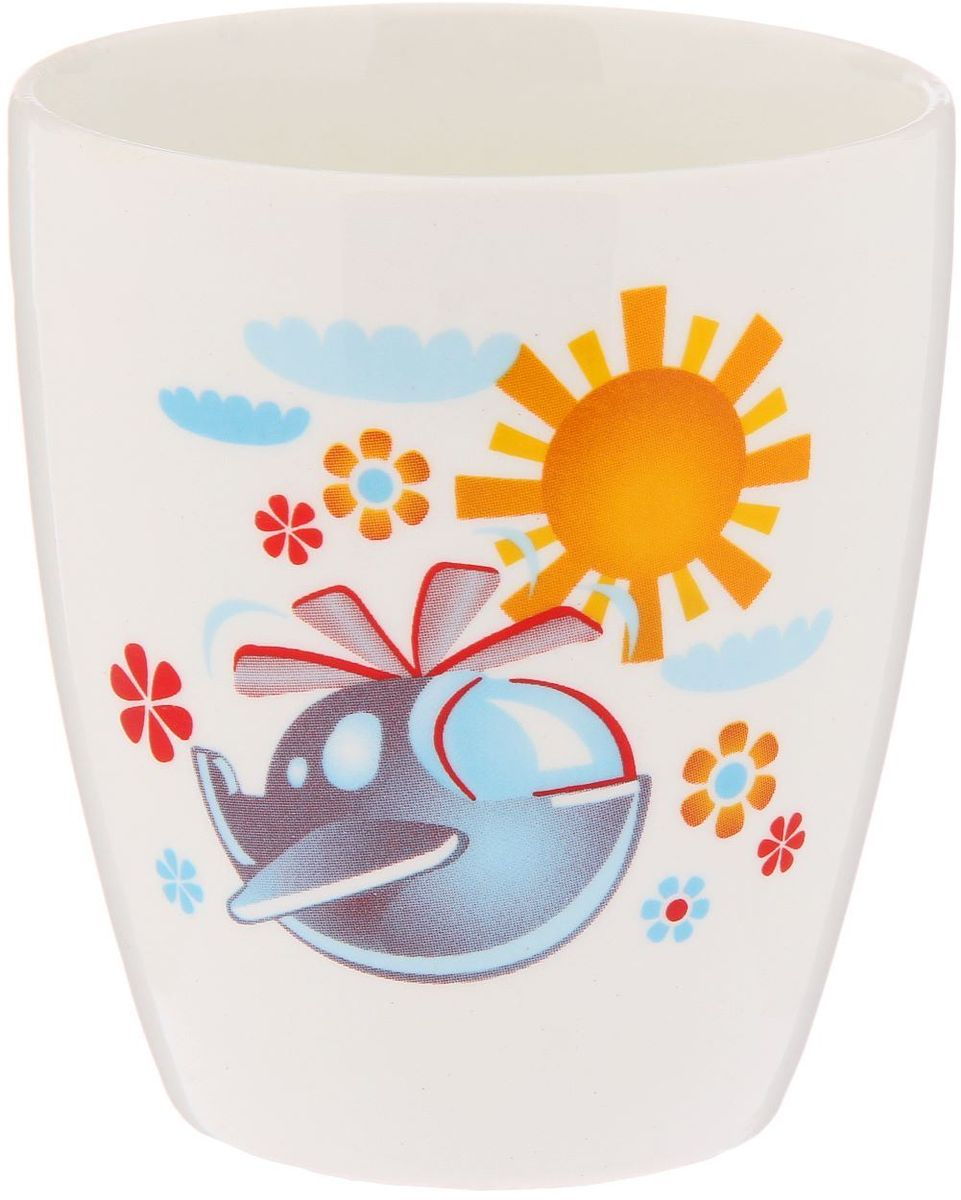 Кубаньфарфор Кружка детская Вертолетик 260 мл2220093Фаянсовая детская посуда с забавным рисунком понравится каждому малышу. Изделие из качественного материала станет правильным выбором для повседневной эксплуатации и поможет превратить каждый прием пищи в радостное приключение.Особенности:- простота мойки,- стойкость к запахам,- насыщенный цвет.