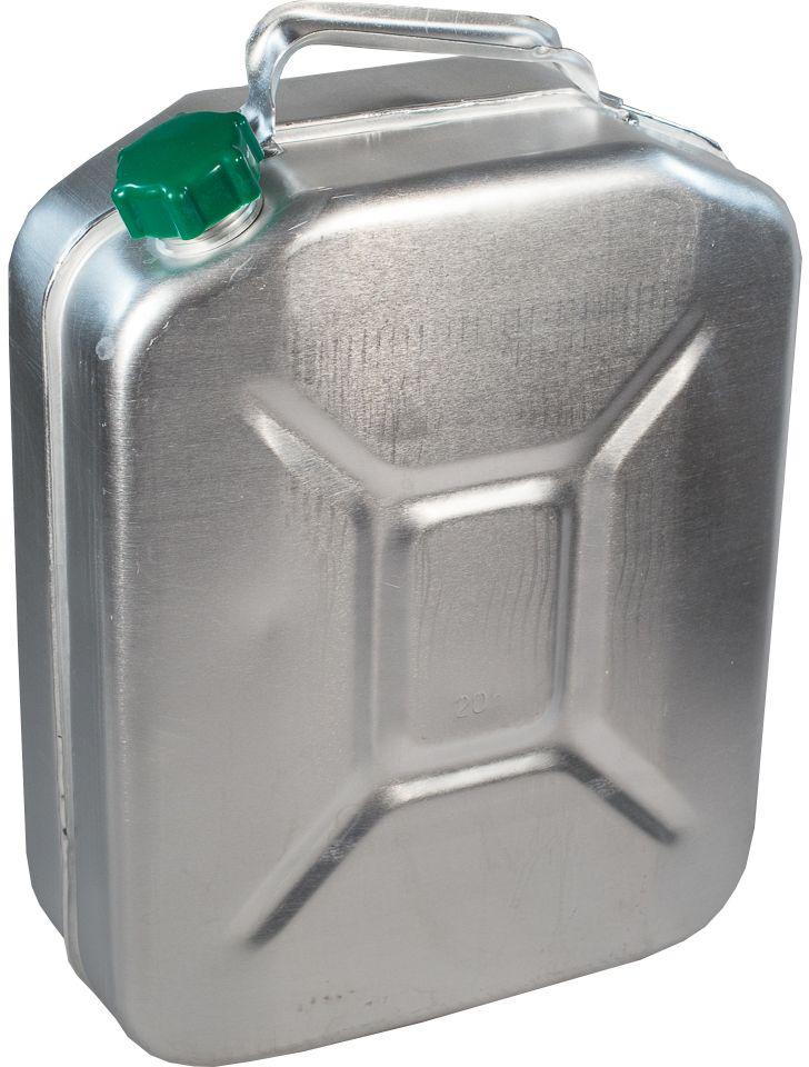 Канистра для ГСМ Scovo, цвет: серый металлик, 20 лMT-031Канистра алюминиевая для хранения и транспортировки горюче смазочных материалов.