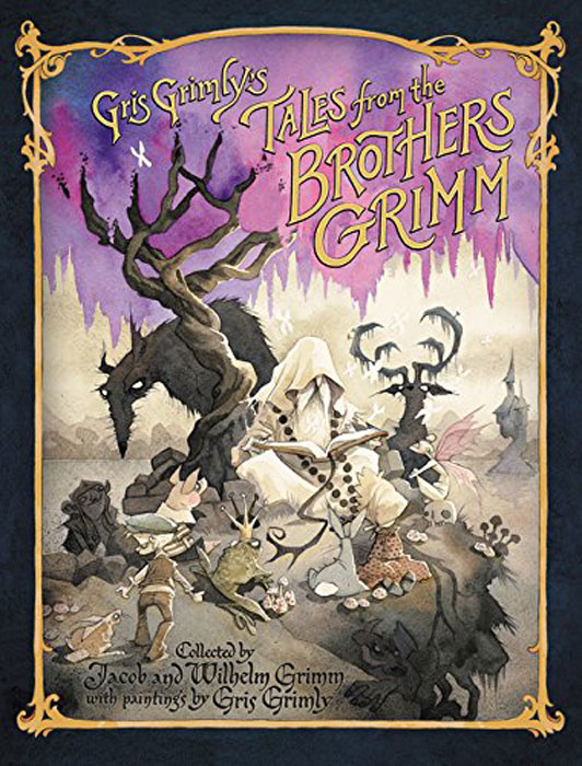 Gris Grimly's Tales from the Brothers Grimm gothic tales