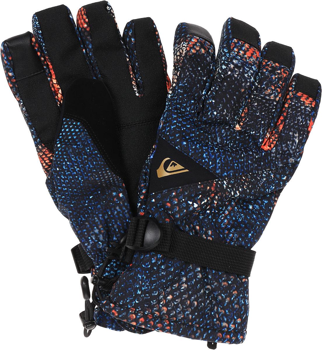 Перчатки мужские Quiksilver, цвет: черный. EQYHN03097-NMS9. Размер M (8)EQYHN03097-NMS9