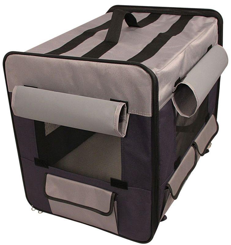 Дом-тент Triol, для животных, цвет: коричневый, коричнево-золотой, 61 х 46 х 53,5 см30711010Удобный складной матерчатый тент Triol - универсальное решение для владельцев собак. Его можно использовать как на улице, так и в помещении в качестве основного места для собаки. Незаменимым атрибутом дом-тент является для владельцев собак на выставках и при перевозке во время длительных путешествий. Удобный, легкий, устойчивый, вместительный и функциональный, он позволяет обеспечить животному максимально комфортные условия содержания. Тент имеет прорезиненные сетчатые окна со шторками и удобный матрас, утепленный искусственным мехом с одной стороны (зимний вариант) и с тонким покрытием с другой (летний вариант). Тентовое покрытие изготовлено из прочного синтетического экоматериала, а сама конструкция легко складывается в удобную сумку, не занимая много места.Размер дома: 61 х 46 х 53,5 см.