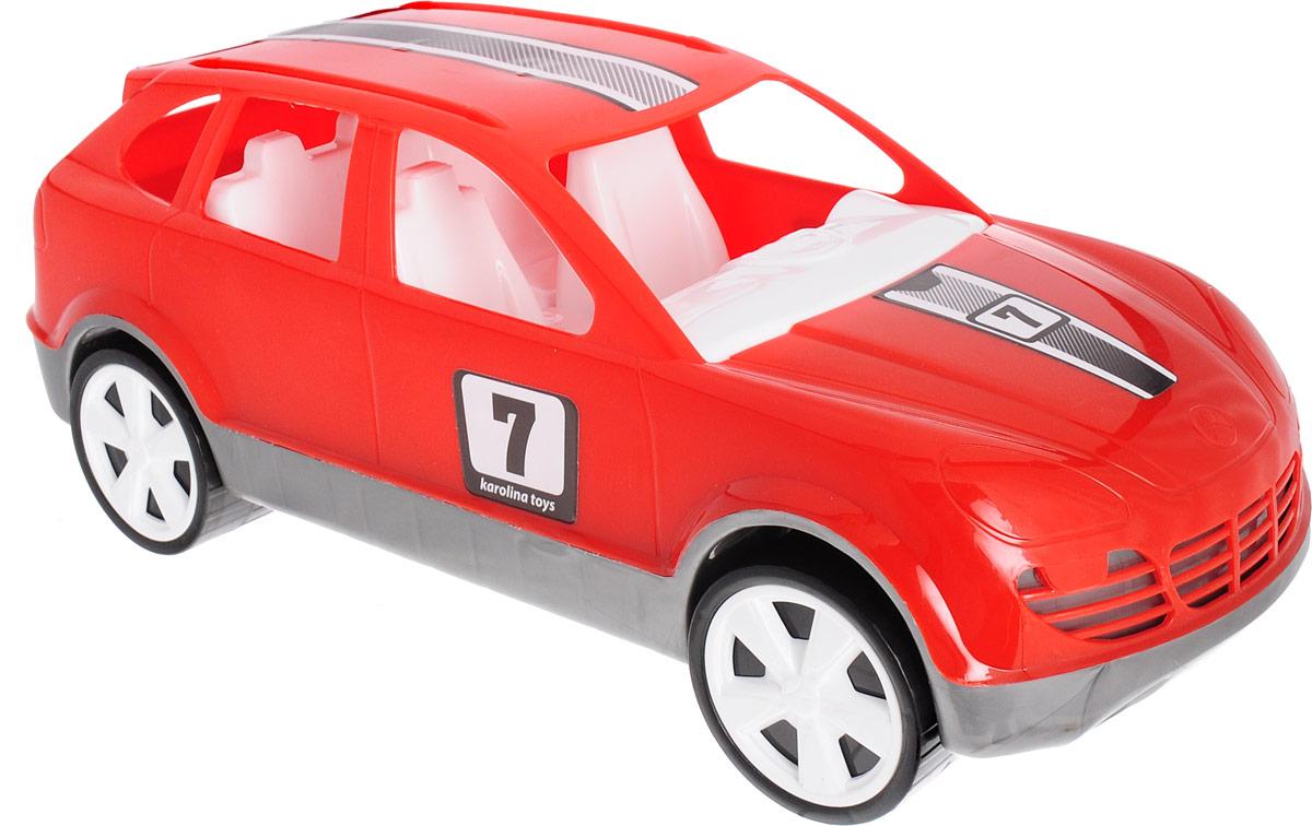 Karolina Toys Машинка-игрушка Кроссовер цвет красный karolina toys игрушка каталка колесо