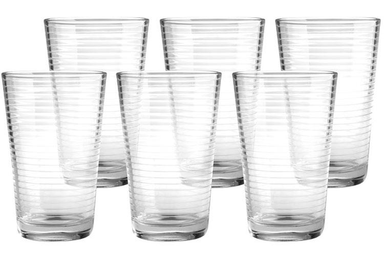 Набор стаканов Style Setter Аптаун, 420 мл, 6 шт2007011UНабор из шести стеклянных стаканов.