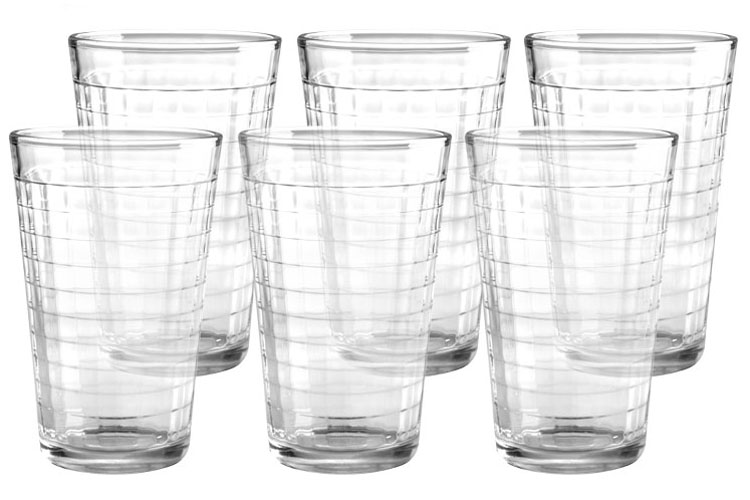 Набор стаканов Style Setter Хобокен, 420 мл, 6 шт2007012UНабор из шести стеклянных стаканов.