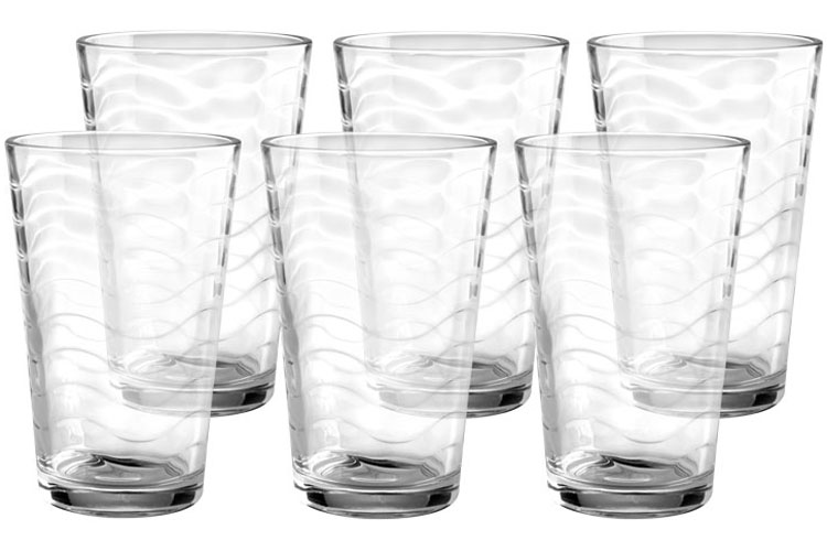 Набор стаканов Style Setter Аллюр, 420 мл, 6 шт2007013UНабор из шести стеклянных стаканов.