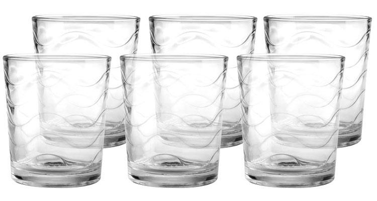 Набор стаканов Style Setter Аллюр, 385 мл, 6 шт2007017UНабор Style Setter Аллюр состоит из шести стаканов, выполненных из высококачественного стекла.Стаканы предназначены для подачи воды, сока и других напитков. Они излучают приятный блеск.Такой набор прекрасно оформит праздничный стол и создаст приятную атмосферу.