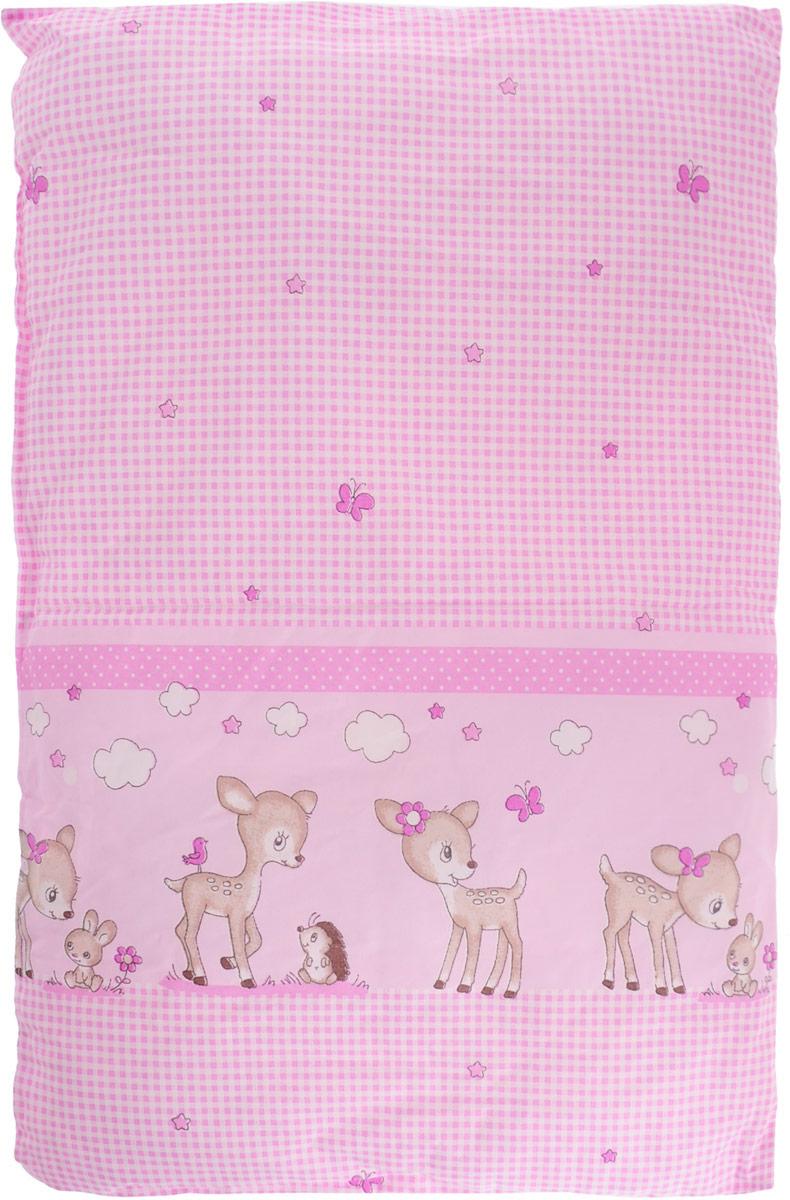 Сонный гномик Подушка детская цвет розовый 60 х 40 см -  Детский текстиль