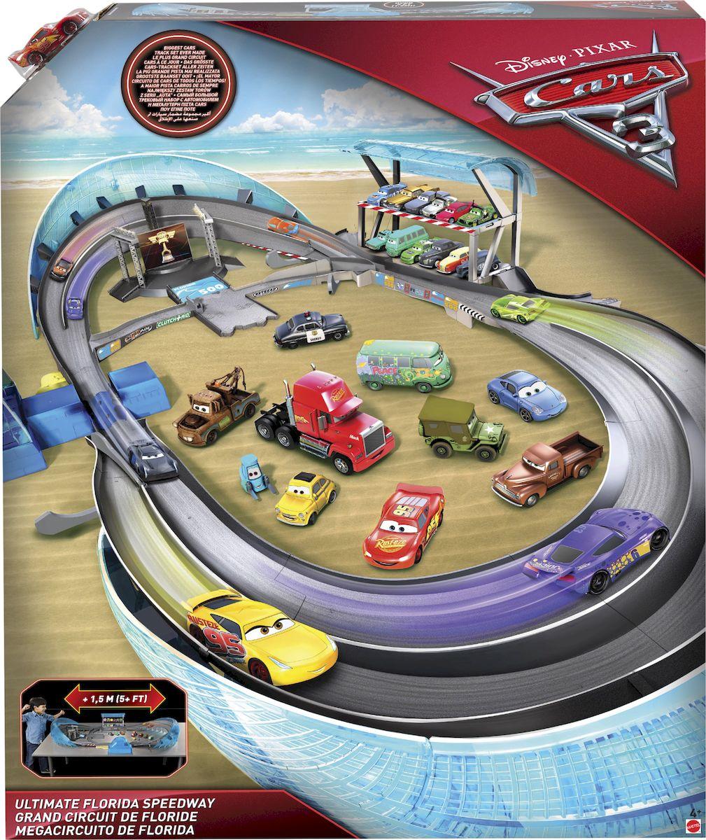 Cars Игрушечный трек Невообразимая трасса Флорида - Транспорт, машинки