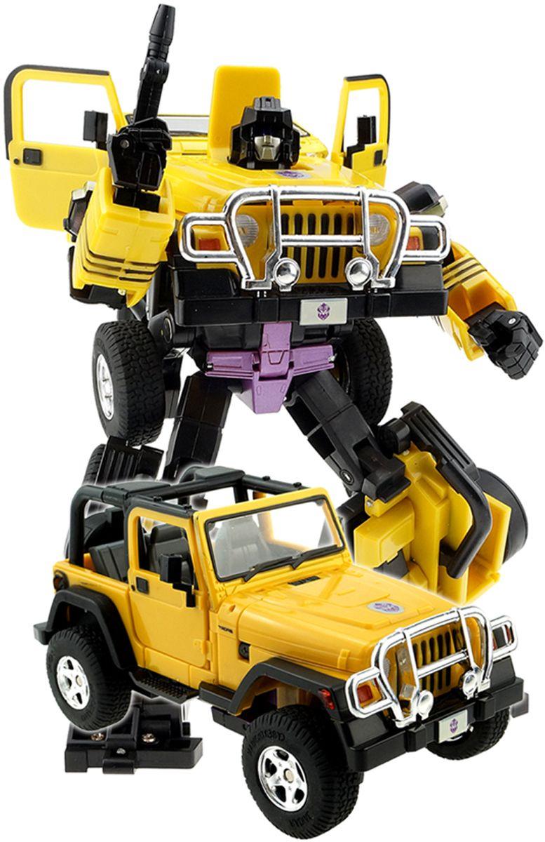 Склад уникальных товаров Робот-трансформер Джип XXL цвет желтый робот трансформер mengbadi 106 blue