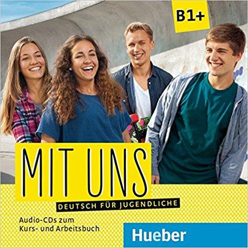 цена на Mit uns B1+ 2 CDs zum Kursbuch, 1 CD zum Arbeitsbuch