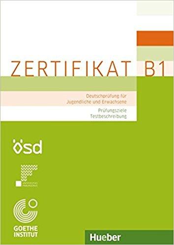 Zertifikat B1 – Prufungsziele, Testbeschreibung парктроник parkmaster vss 4r 01 b1