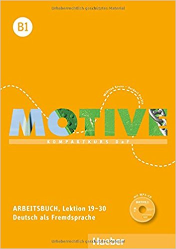 Motive: Arbeitsbuch B1: Lektion 19-30 (+ CD) ботинки der spur der spur de034amwiz42