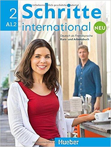 Schritte international: Neu 2: Kursbuch + Arbeitsbuch (+ CD zum Arbeitsbuch) hilpert s deutsch als fremdsprache kursbuch arbeitsbuch schritte 3 international cd