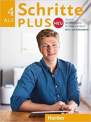 Schritte plus Neu 4 Kursbuch+Arbeitsbuch+CD zum Arbeitsbuch aspekte neu arbeitsbuch b1 plus mittelstufe deutsch аудиокнига cd