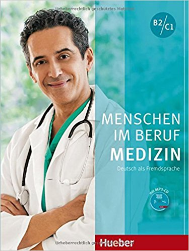 Menschen im Beruf - Medizin Kursbuch mit MP3-CD