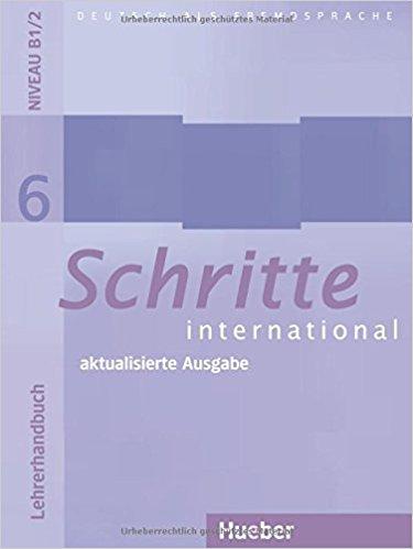 Schritte International: Lehrerhandbuch 6 оптический нивелир stabila ols 26 штатив bst s рейка tnl 500 см 18460