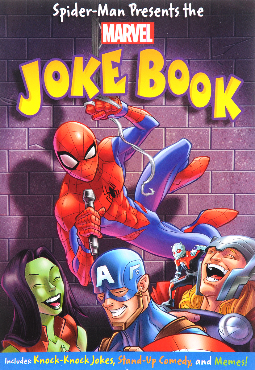 Spider-Man Presents The Marvel Joke Book the funniest christmas joke book ever