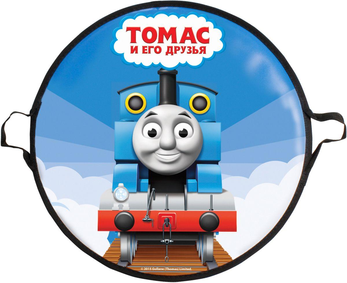 Ледянка 1Toy Томас и его друзья, цвет: голубой, диаметр 52 см mooncase iphone 5 5s leather flip wallet card holder pouch stand back чехол для apple iphone 5 5s green