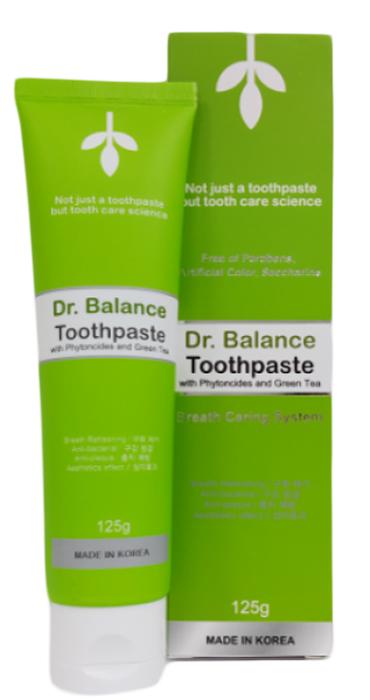 Dr.Balance Лечебная паста для десен и зубов с пептидами и золотом, Доктор Баланс. С низким содержанием фтора, 125 гр.113034