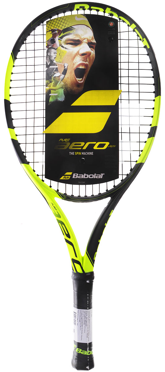 Теннисная ракетка BABOLAT PURE AERO JUNIOR (Пьюр Аэро Джуниор). Размер 1