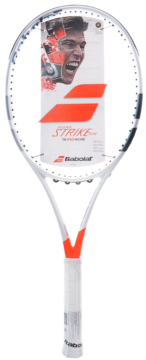 "Ракетка теннисная Babolat ""Pure Strike Team"", без натяжки. Размер 2"