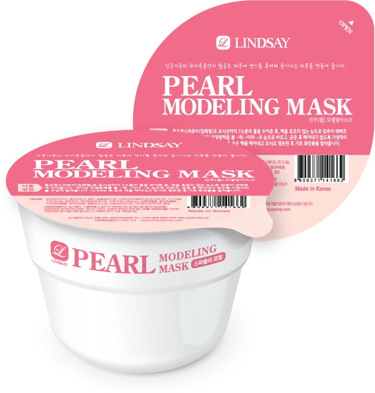 Lindsay Моделирующая альгинатная маска для лица, с жемчужной пудрой, 30 г141662Альгинатные маски – популярное в салонах косметическое средство, основа которого – альгин, способствует более глубокому и эффективному проникновению активных компонентов в слои кожи. Жемчужная пудра помогает активной регенерации клеток, защищает от образования пигментных пятен. Насыщает кожу необходимыми минералами и микроэлементами, улучшая ее структуру.Способ применения: 1. Залейте содержимое упаковки водой до установленной метки (линия по периметру упаковки) 2. Размешайте до образования однородной гелеобразной массы 3. Нанесите маску на лицо 3. Оставьте на лице на 15-20 минут 4. Начиная с нижнего края, аккуратно удалите маску с лица.Меры предосторожности: при возникновении раздражения прекратите использование и обратитесь к дерматологу. При попадании продукта в глаза обильно промойте их водой. Храните в защищенном от прямых солнечных лучей месте, недоступном для детей.Состав: Диатомовая земля, глюкоза, альгин, сульфат кальция, пирофосфат калия, карбонат магния, аллантоин, альгинат калия, жемчужная пудра (1000 ppm), аденозин, экстракт центеллы азиатской, экстракт корня шлемника байкальского, экстракт портулака огородного, CI 77491, карбоксиметилцеллюлоза, бензоат натрия, сорбат калия, отдушка.