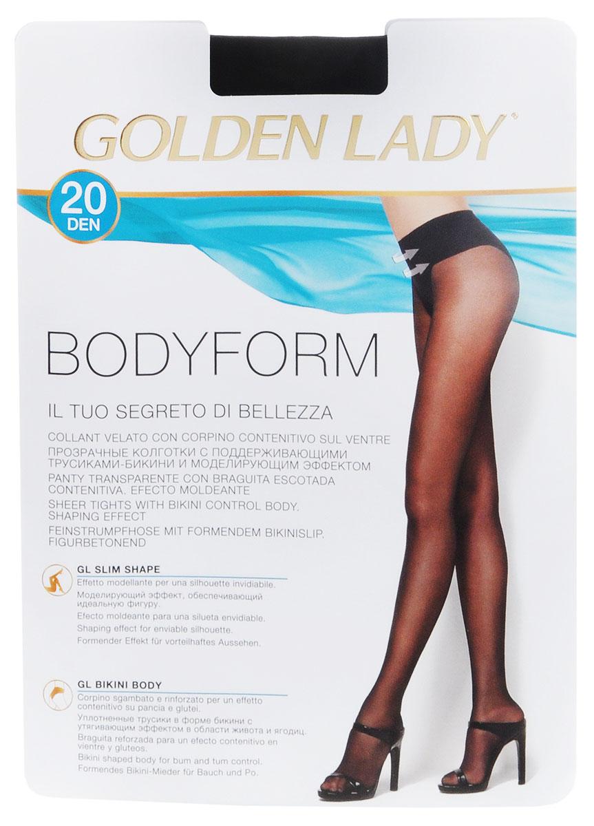 Колготки женские Golden Lady Bodyform 20, цвет: Nero (черный). 39NVN. Размер 3 (M) колготки женские golden lady bikini slim 40 цвет nero черный 122lll размер 4 l