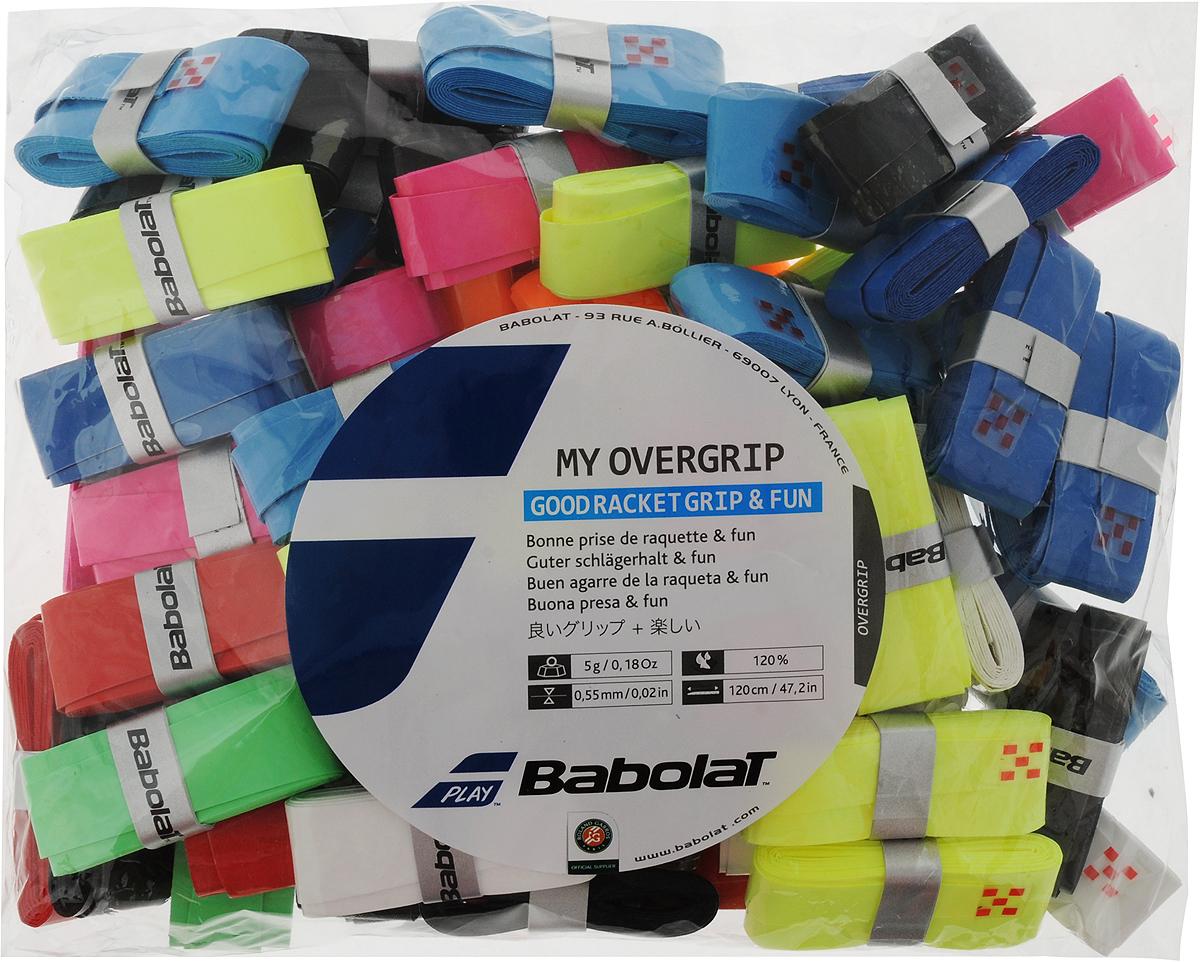 Овергрип BABOLAT MY GRIP, 70 шт656007Ассорти из овергрипов MY GRIP в пакете.70 штук в упаковке.