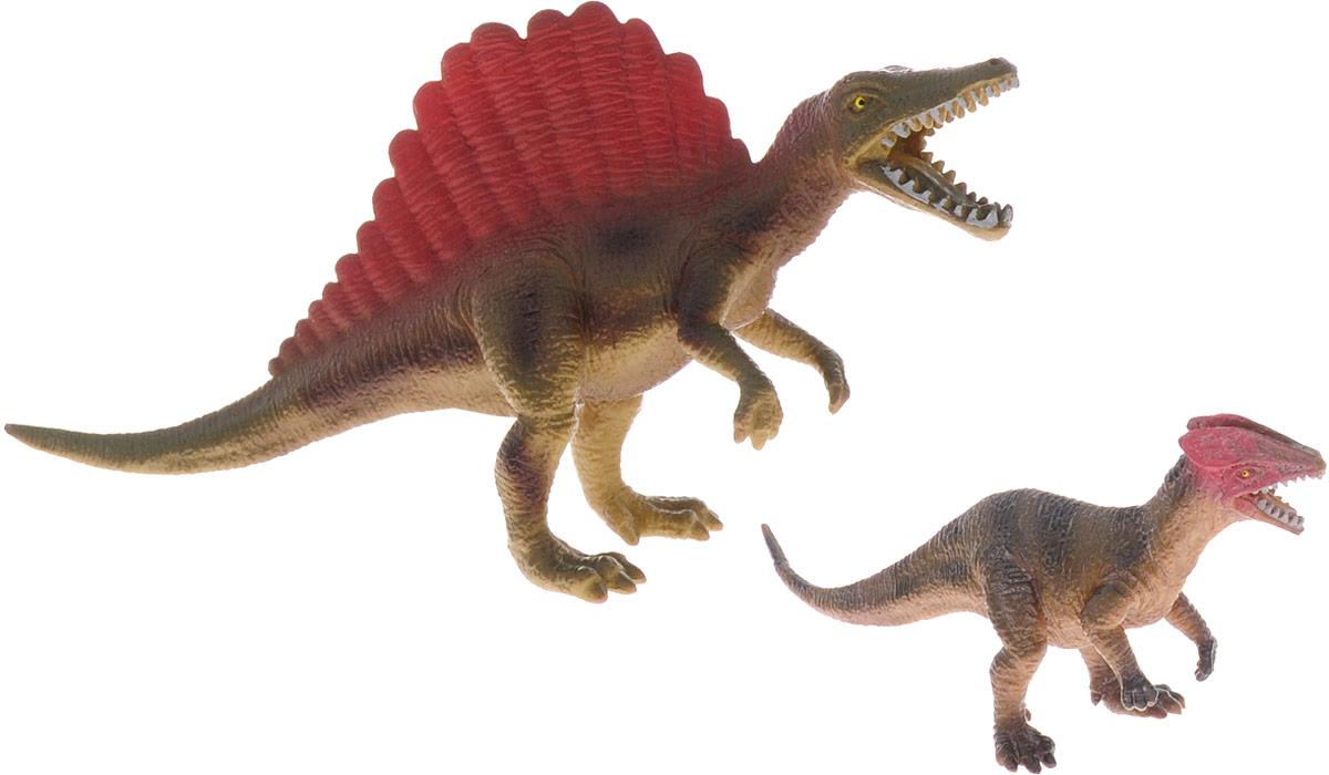 National Geographic Набор фигурок Спинозавры набор фигурок tomy поезд динозавров мистер птеранодон дерек и олли