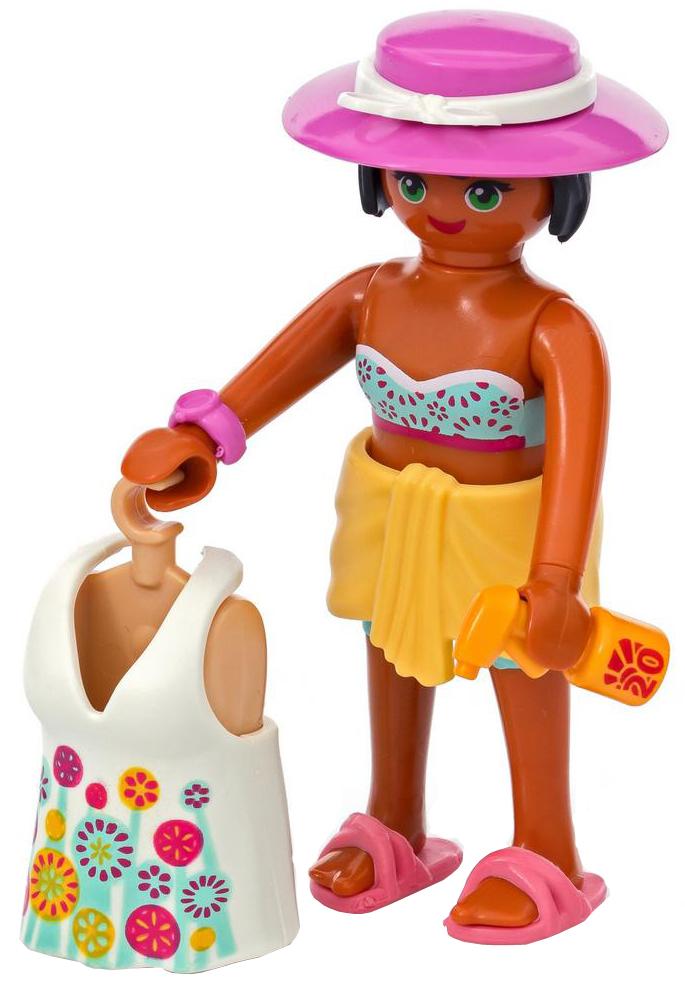 Playmobil Игровой набор Девушка в пляжном наряде