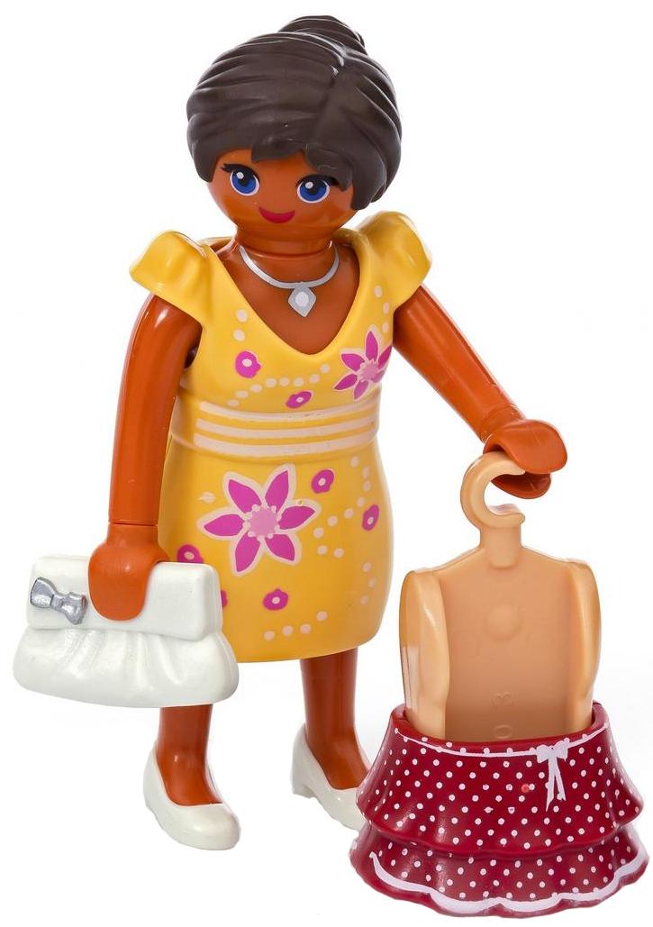 Playmobil Игровой набор Девушка в летнем наряде playmobil игровой набор африка газели