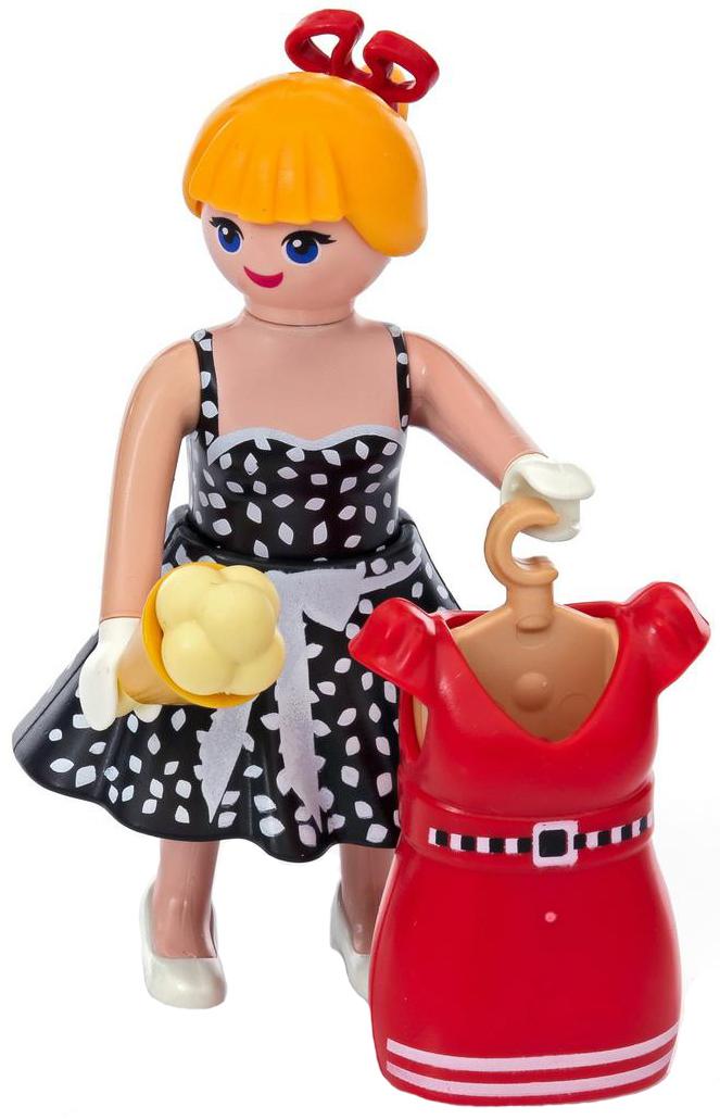 Playmobil Игровой набор Модная девушка из 50-х фэшн и стиль знаменитость на красной дорожке playmobil