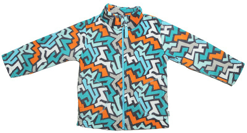 Куртка для мальчика Cherubino, цвет: зеленый. CWB 61498. Размер 92CWB 61498Флисовая куртка для мальчика. Выполнена из набивного трикотажа. С воротником-стойкой, застегивается на молнию.